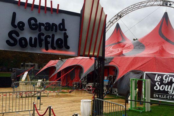 Le Grand soufflet prêt à accueillir public et musiciens