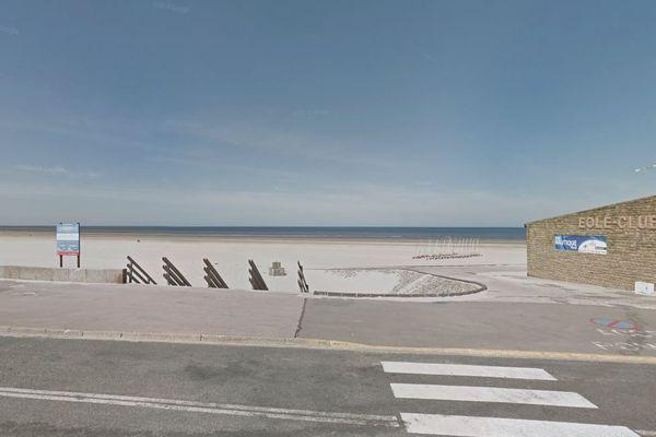 Le drame a eu lieu sur la plage de Berck-sur-Mer, non loin du club de voile.