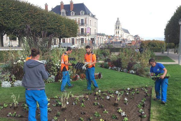 La Ville de Blois emploie 57 agents permanents aux espaces verts