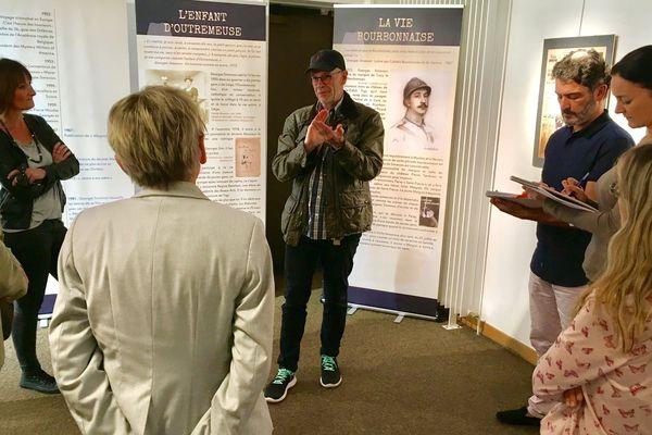 John Simenon évoque l'œuvre de son père a l occasion de l'exposition consacrée au commissaire Maigret a Vichy