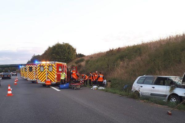 En mars 2019, il n'y a eu aucun décès sur les routes de l'Oise.