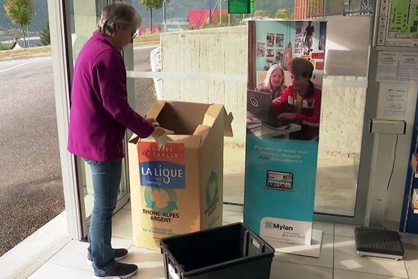 Mende (Lozère) - vos anciennes radiographies collectées dans les hôpitaux et pharmacies pour le recyclage - 2019.