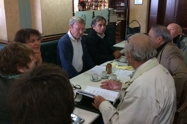 La gauche autonomiste, avec Vincent Carlotti et Henri Malosse.