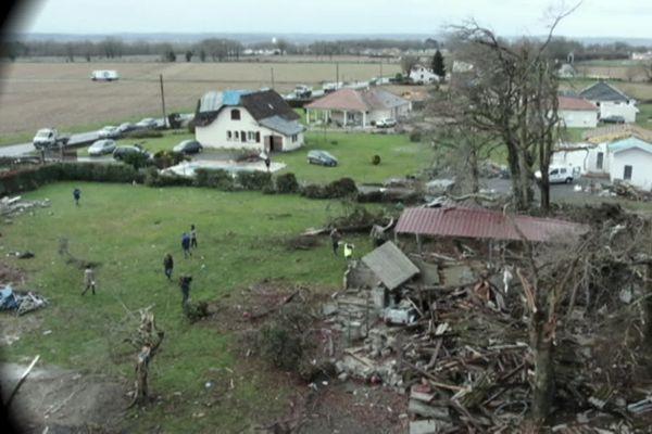 Le 22 décembre 2019, une tornade dévastait ce quartier de Serres Sainte-Marie