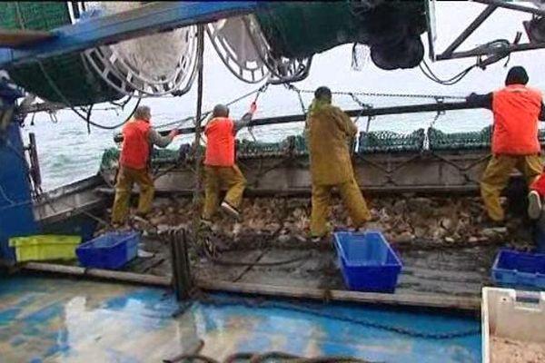 Les zones de pêches se réduisent à cause des usages industriels, des zones protégées et l'éolien off shore,