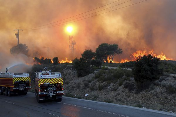 L'incendie pourrait être liée à un acte malveillant.