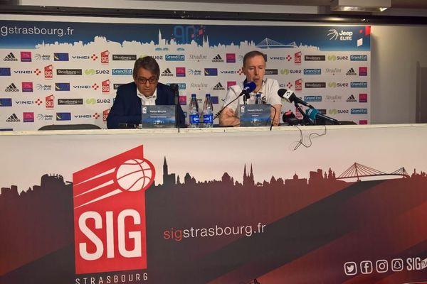 Vincent Collet a annoncé qu'il demeurait entraîneur de la SIG.