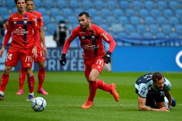 Le Stade Malherbe l'a emporté ce samedi face au Havre sur le score de deux buts à un