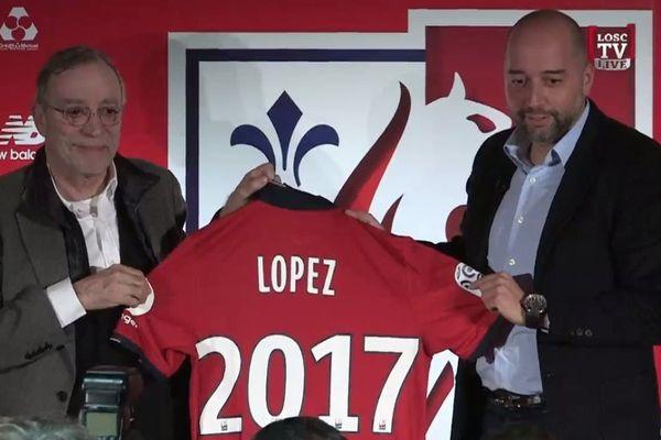 Gérard Lopez, nouveau président du LOSC.
