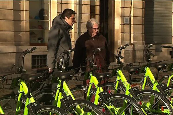 Les Gobee Bike débarquent à Reims.