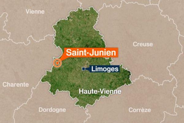 L'homme, âgé de 51 ans, aurait perdu le contrôle de son deux-roues sur l'avenue d'Oradour-sur-Glâne à Saint-Junien. Il est décédé sur place.