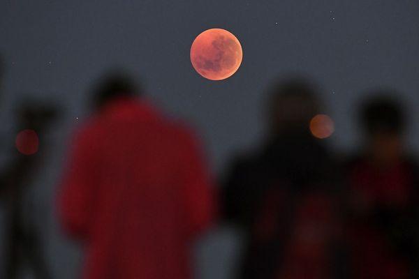 Une éclipse de lune en Australie
