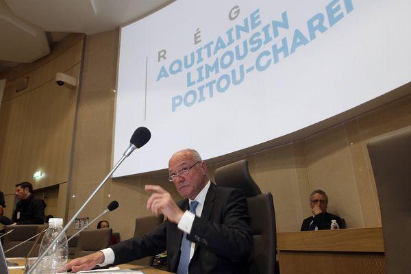 Alain Rousset, le président de la région ALPC.
