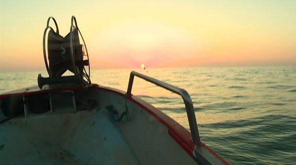 """Le """"petit Damien"""" de Franck Ramagosa part pêcher au large de Saint Cyprien - juin 2019"""