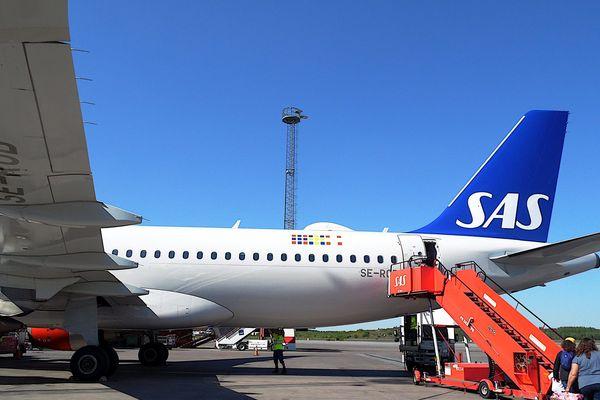 Un avion de la compagnie SAS