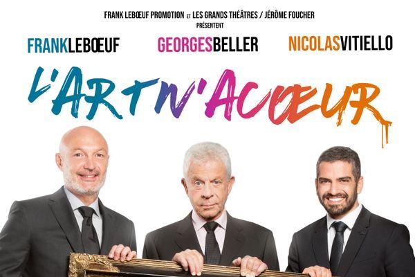 L'ancien footballeur professionnel Franck Leboeuf est à l'affiche de l'Art'nacoeur le 21 octobre à 20h au Théâtre de l'Odéon.