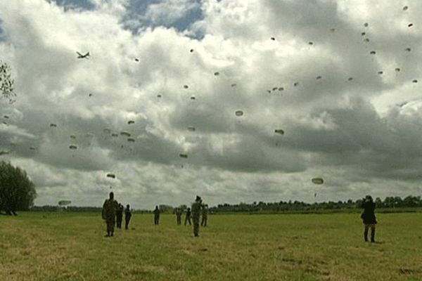 Le dernier parachutage de soldats Américains, le 3 juin 2012, avait fait 6 blessés