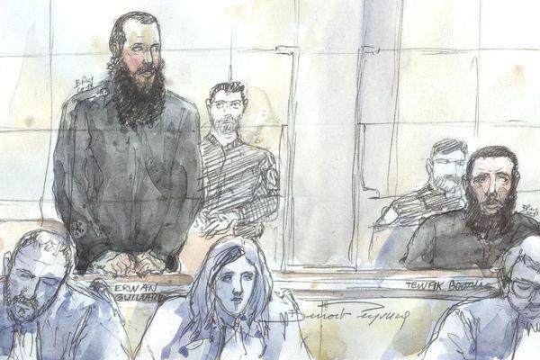 Le procès du jihadiste Erwan Guillard à la Cour d'Assises de Paris