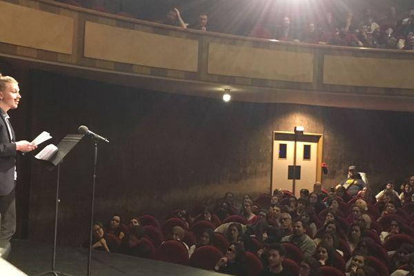 Théotime d'Ornano a remporté la finale 2018 du concours Eloquentia Limoges