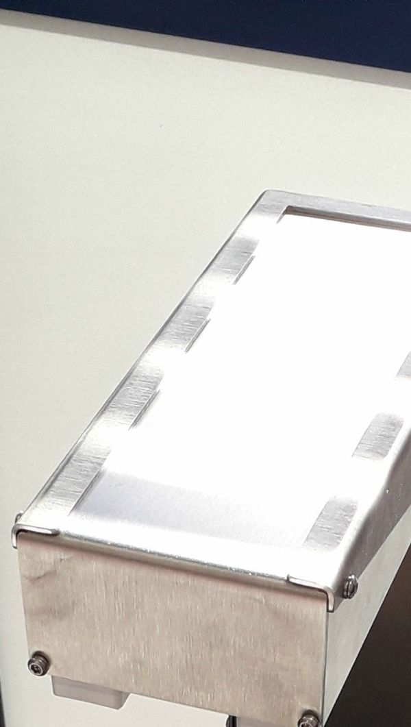 De taille d'une feuille A4, ce modèle de scanner est l'un des prototypes, créé par la société Ertel cet été et modifié depuis.