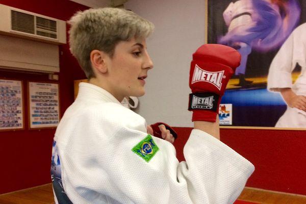 A 17 ans, l'audoise Estelle Gaspard est championne du monde de Ju-Jitsu - mars 2017