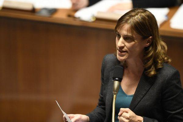 La secrétaire d'Etat à l'Aide aux victimes, Juliette Méadel, à l'Assemblée nationale à Paris, le 9 novembre 2016.
