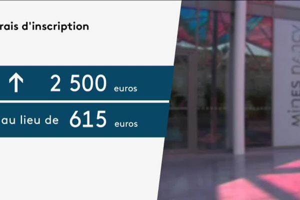 2.500 euros au lieu de 615. A la rentrée 2018, les frais d'inscription vont exploser à l'École des Mines de Nancy