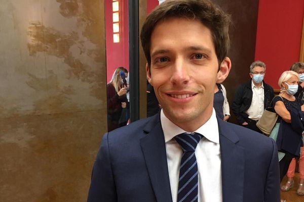 Quentin Brière a été élu maire à Saint-Dizier en Haute-Marne avec 50,05 % des suffrages.