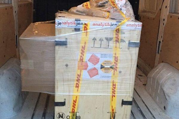 Le matériel nécessaire aux tests a atterri à Bastia