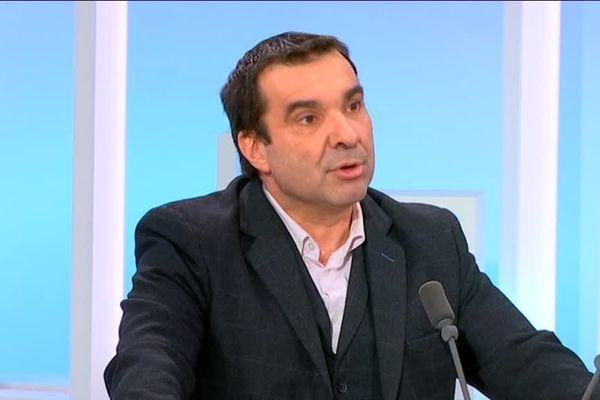 Richard Ramos invité politique de Rebecca Benbourek dans le 19/20 Centre-Val de Loire