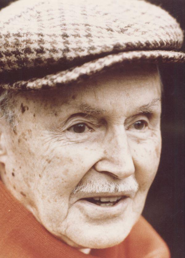 Maurice Genevoix à la fin des années 1970.