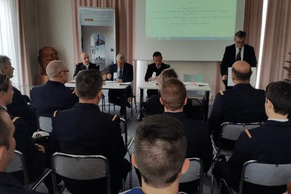 La signature de la convention bac pro marine a été signée le 19 mai 2015.