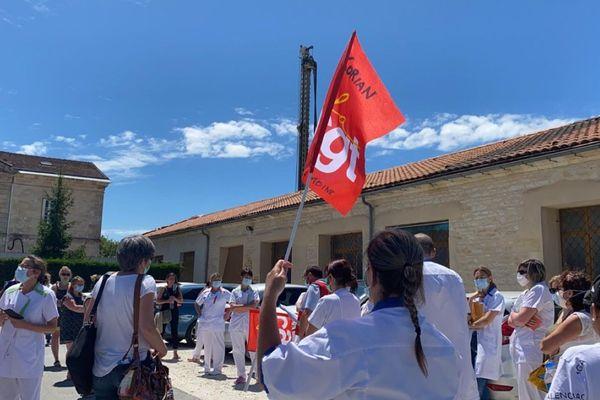 Grève au sein du groupe Korian en Gironde