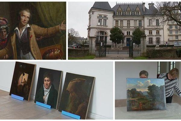 A Montargis, les premières œuvres restaurées font leur retour au Musée Girodet.