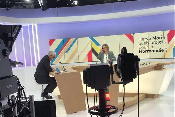 Hervé Morin, président de la région Normandie confirme son envie de se lancer dans la campagne des régionales en mars 2021.