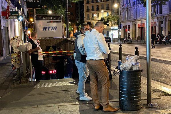 Le décès est survenu mercredi dans le métro à la station Joliette à Marseille.