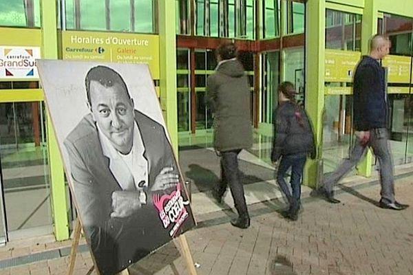 Montpellier - la collecte des resto du coeur - mars 2013.
