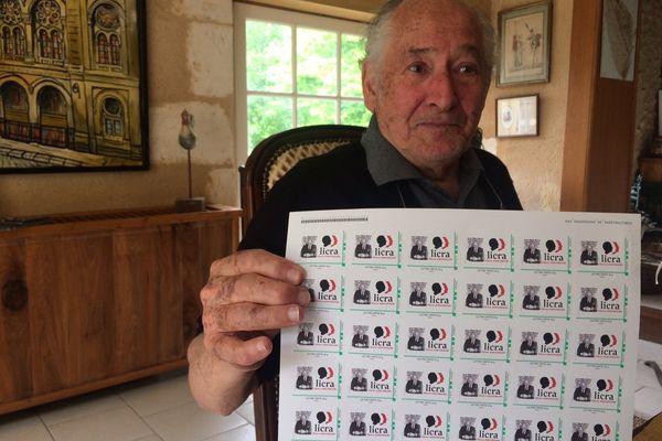 Un timbre à l'effigie de Jean Pierre-Bloch à l'occasion des 90 ans de la Licra
