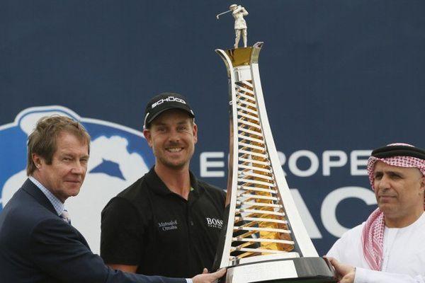 Le Suédois Henrik Stenson remporte l'Open de Dubaï