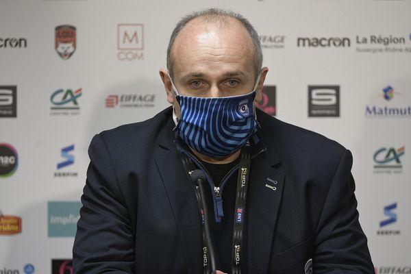 L'entraineur du MHR, Philippe Saint-André