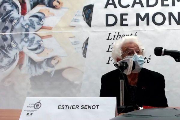Esther Senot, à Montpellier, le jeudi 10 décembre 2020.
