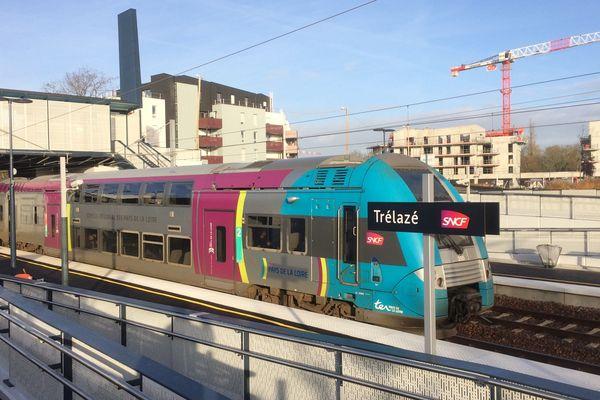 La nouvelle gare de Trélazé