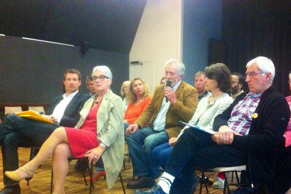La conférence de presse d'Europe Ecologie les Verts à Nantes