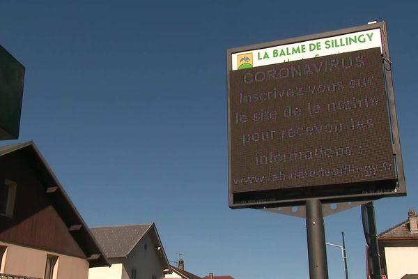 Au moins 30 cas de coronavirus ont été révélés dans la commune de La-Balme-de-Silingy au 5 mars 2019