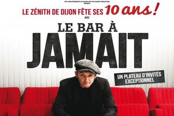 Le Zénith donne carte blanche à Yves Jamait, pour fêter ses 10 ans le 9 octobre 2015 à 20h30