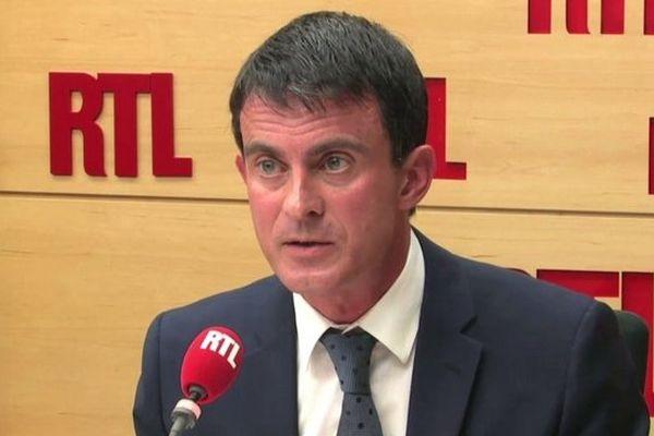 Manuel Valls sur RTL ce jeudi.