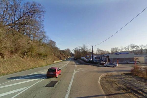 """Fermeture entre la voie entre RD 29 et RN 520 : les usagers de la """"route du Palais"""" devront emprunter des déviations (secteur des Casseaux)"""
