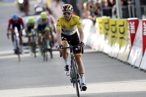 L'Allemand Maximilian Schachmann, gagnant de l'édition 2020 de la course Paris-Nice.