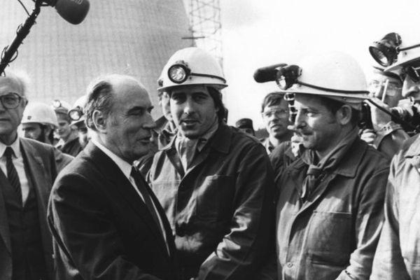En octobre 1981, François Mitterrand se rend en Lorraine. Première visite en province depuis son élection.