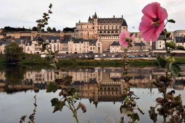 Le château d'Amboise, où Emmanuel Macron se rendra demain en visite.